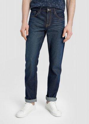 Базовые прямые джинсы O`Stin. Цвет: синий