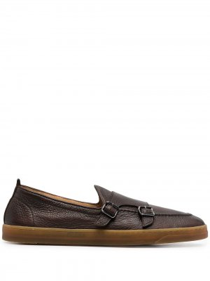 Туфли монки Henderson Baracco. Цвет: коричневый