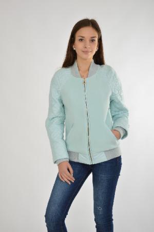 Куртка утепленная Grand Style. Цвет: голубой
