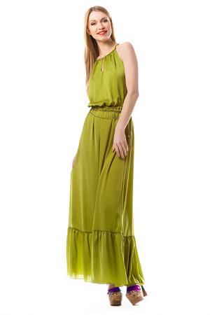 Платье Bovona. Цвет: зеленый