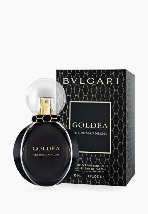 Парфюмерная вода Bvlgari Goldea The Roman Night, 30 мл. Цвет: черный