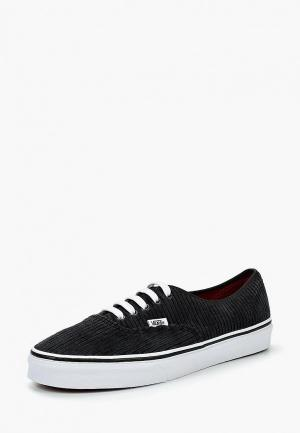 Кеды Vans UA AUTHENTIC. Цвет: черный