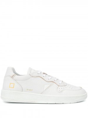 Court low-top sneakers D.A.T.E.. Цвет: белый