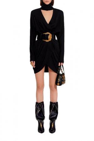 Платье Versace. Цвет: черный