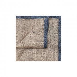 Платок из смеси льна и шелка Corneliani. Цвет: бежевый