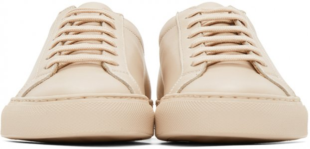 Pink Original Achilles Low Sneakers Common Projects. Цвет: 0600 nude