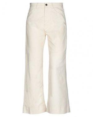 Джинсовые брюки HENRY COTTON'S. Цвет: бежевый