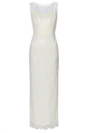 Платье Gina Bacconi. Цвет: ivory, gold