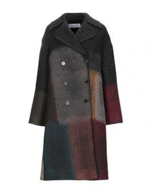 Пальто DIOR. Цвет: стальной серый