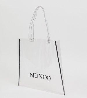 Большая прозрачная сумка-тоут -Очистить Nunoo