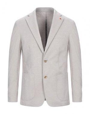 Пиджак PRIMO EMPORIO. Цвет: голубиный серый