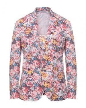 Пиджак YOON. Цвет: светло-розовый