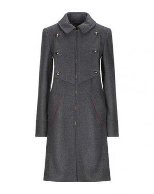 Пальто MARC BY JACOBS. Цвет: свинцово-серый