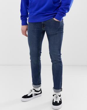 Синие облегающие джинсы -Синий Cheap Monday