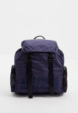 Рюкзак Alberta Ferretti ATHLEISURE. Цвет: синий