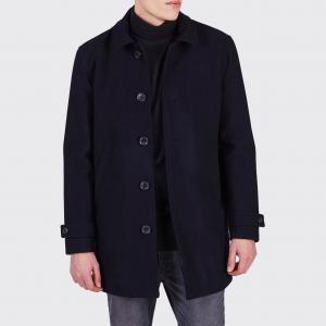Пальто-жакет Jenkings, 50% шерсти MINIMUM. Цвет: темно-синий