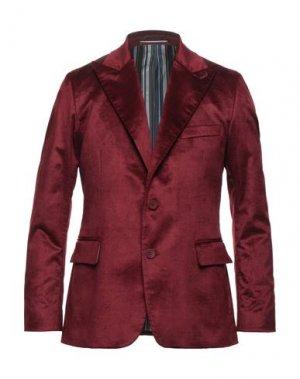 Пиджак MAESTRAMI. Цвет: красно-коричневый