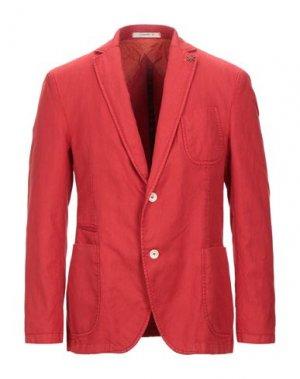 Пиджак GIACCHE'. Цвет: красный