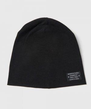 Трикотажная шапка O`Stin. Цвет: черный