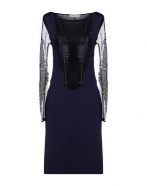 Платье до колена ANGELO MARANI. Цвет: фиолетовый