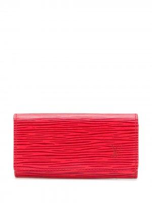 Футляр для ключей Épi 1990-х годов Louis Vuitton. Цвет: красный