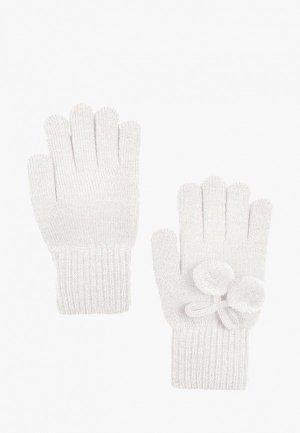 Перчатки Finn Flare. Цвет: белый