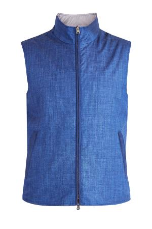 Жилет ENRICO MANDELLI. Цвет: синий