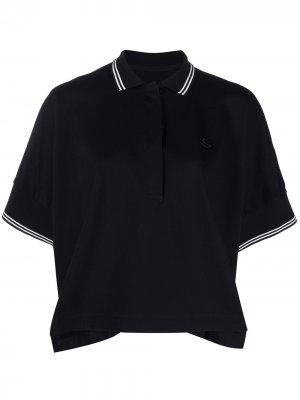 Рубашка поло Sacai. Цвет: синий