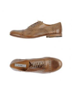 Обувь на шнурках INK. Цвет: верблюжий