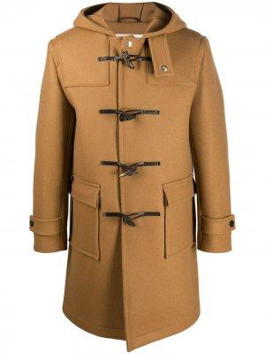 Дафлкот Weir с капюшоном Mackintosh. Цвет: коричневый