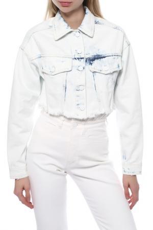 Джинсовая куртка Pinko. Цвет: голубой