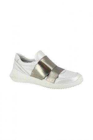 Кроссовки HCS. Цвет: белый, серебряный