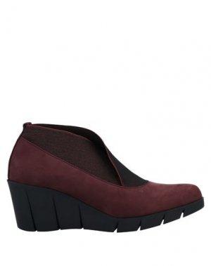 Туфли THE FLEXX. Цвет: красно-коричневый
