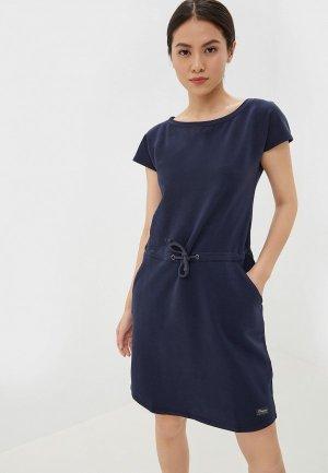 Платье Bergans of Norway Oslo W Summerdress. Цвет: синий
