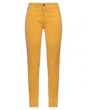 Повседневные брюки FLY GIRL. Цвет: охра