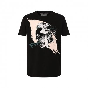 Хлопковая футболка Drykorn. Цвет: чёрный