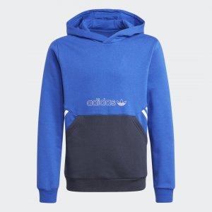 Худи SPRT Collection adidas. Цвет: синий