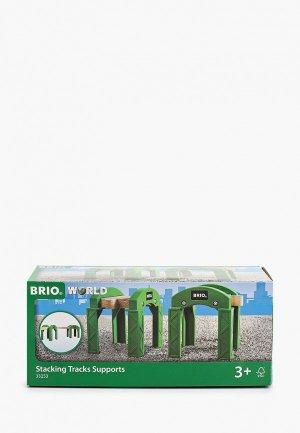 Конструктор Brio Опорные арки для строительства мостов, туннелей, ж/д. Цвет: разноцветный