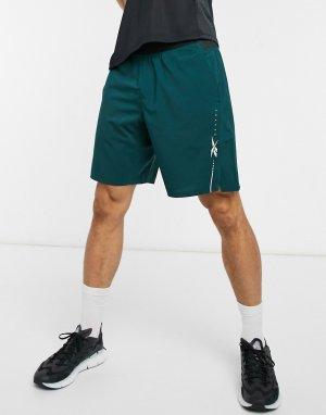 Зеленые легкие шорты Training Epic 9inch-Голубой Reebok