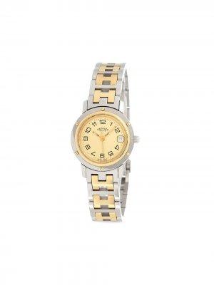 Наручные часы Clipper CL4.220 pre-owned 24 мм Hermès. Цвет: золотистый