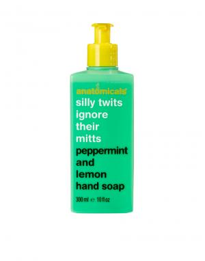 Мыло для рук с мятой и лимоном Silly Twits Ignore ir Mitts Anatomicals