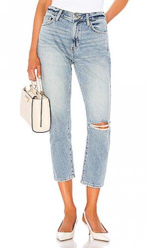 Облегающие прямые джинсы the vintage crop Current/Elliott. Цвет: none