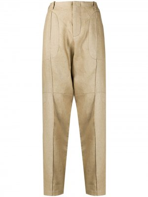 Строгие брюки чинос Vejas. Цвет: нейтральные цвета