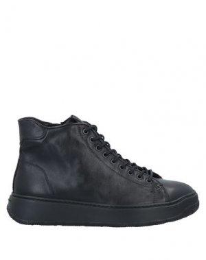Высокие кеды и кроссовки FRATELLI ROSSETTI. Цвет: черный