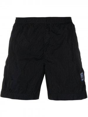 Плавки-шорты с эластичным поясом C.P. Company. Цвет: синий