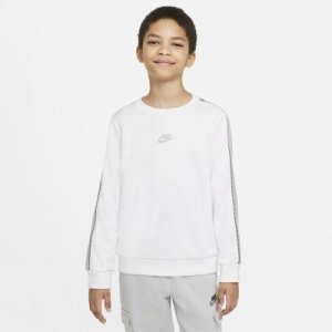 Толстовка для мальчиков школьного возраста Nike Sportswear - Белый