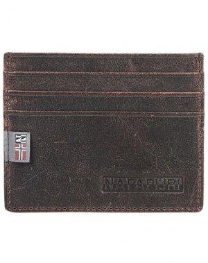 Чехол для документов NAPAPIJRI. Цвет: темно-коричневый