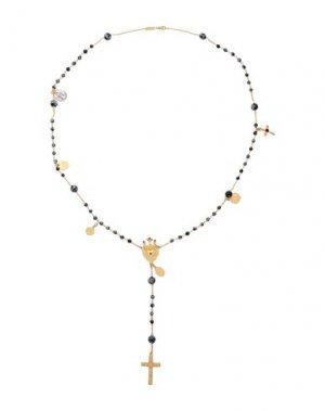 Ожерелье DOLCE & GABBANA. Цвет: золотистый