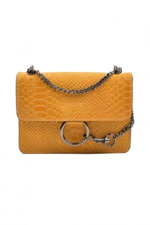 Bag CARLA FERRERI. Цвет: orange