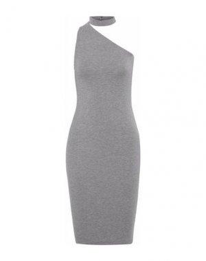 Платье до колена BAILEY 44. Цвет: серый